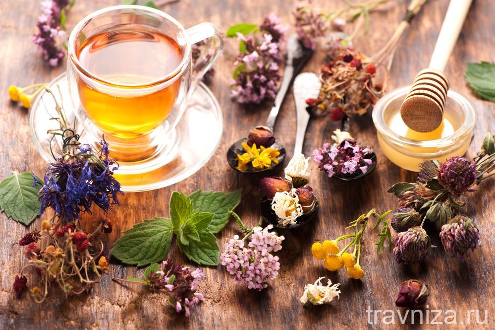 делайте чай с вкусными травами