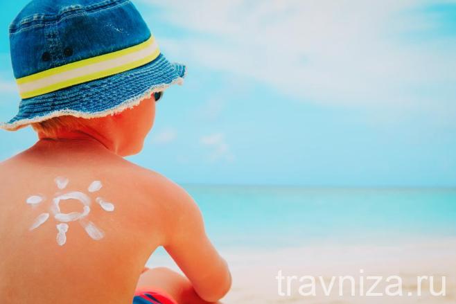 Лечение солнечных и бытовых ожогов в домашних условиях