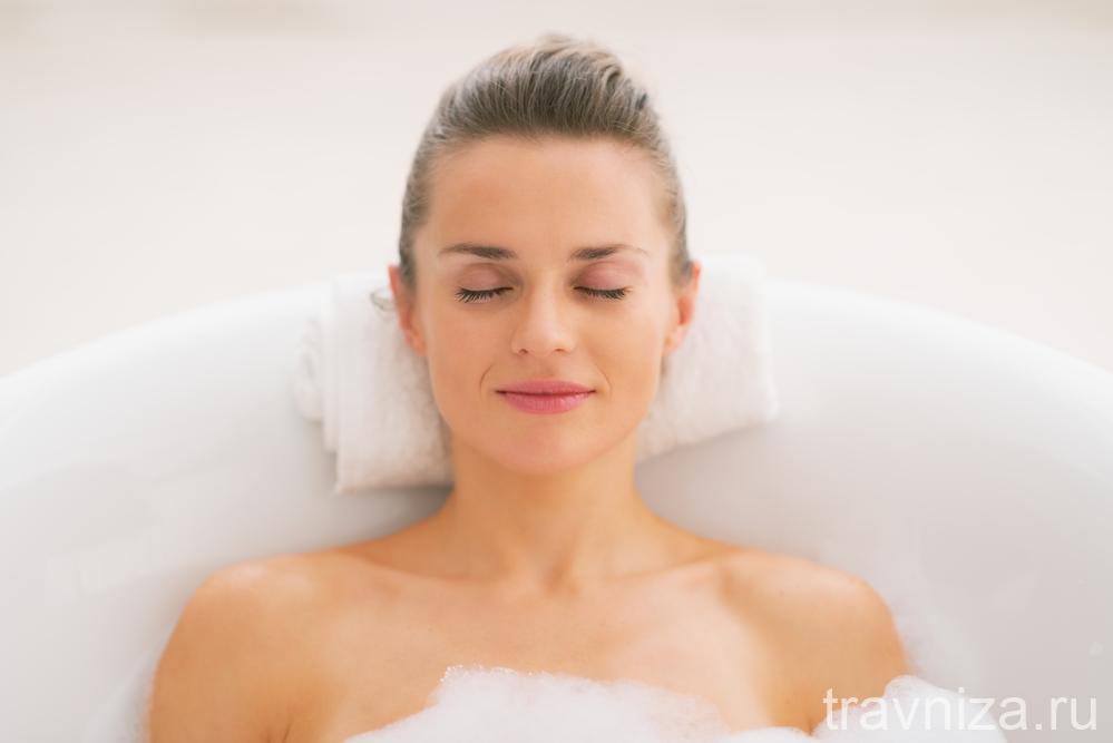 польза содовых ванн