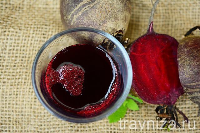 полезные свойства свекольного сока для женщин
