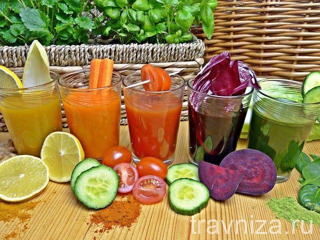 свекольный сок для очистки организма и похудения