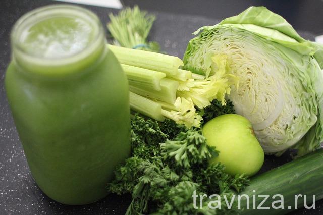 сельдерей в сочетании с другими овощами