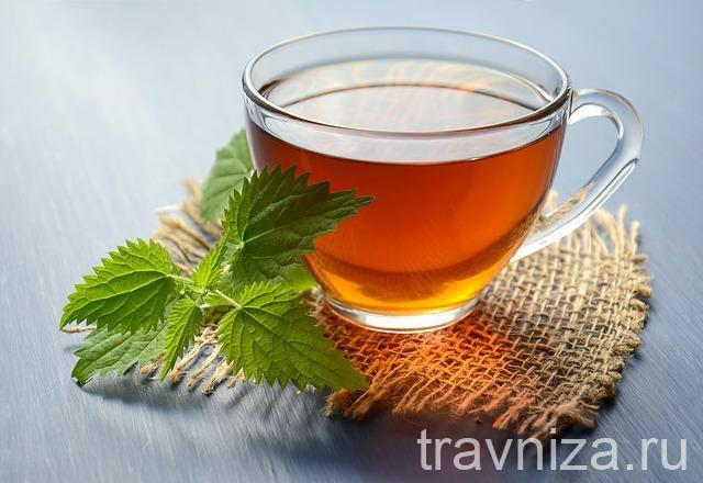 травяной чай для роста волос