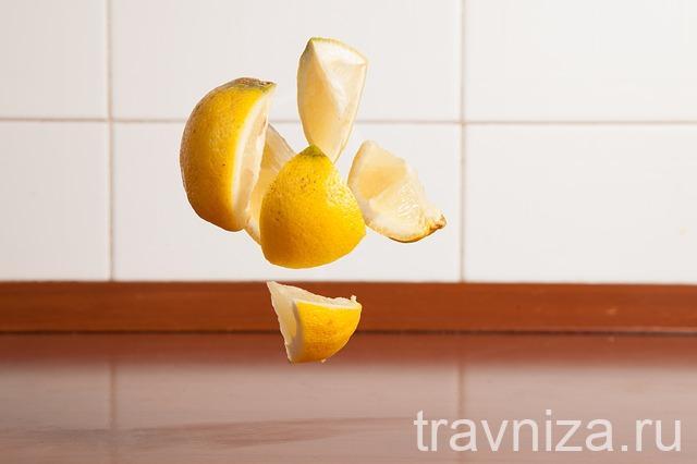 Лимонный сок для волос и лица