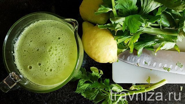 рецепт смузи из сельдерея для похудения