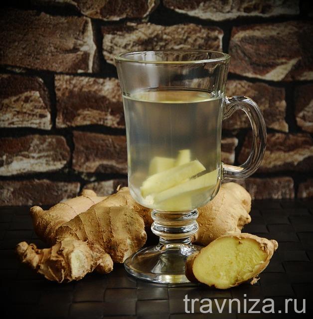 чай с имбирем для иммунитета