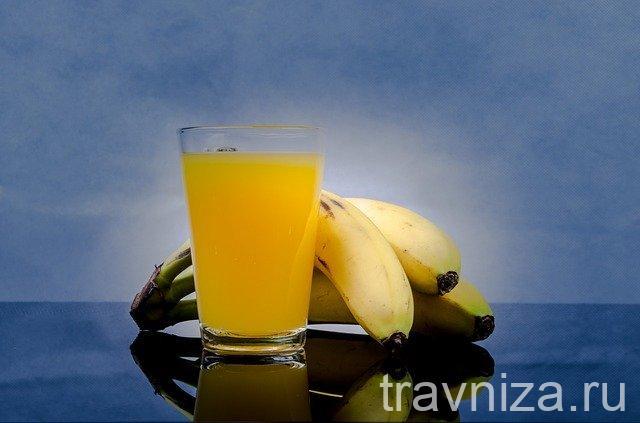 банановый сок для глаз
