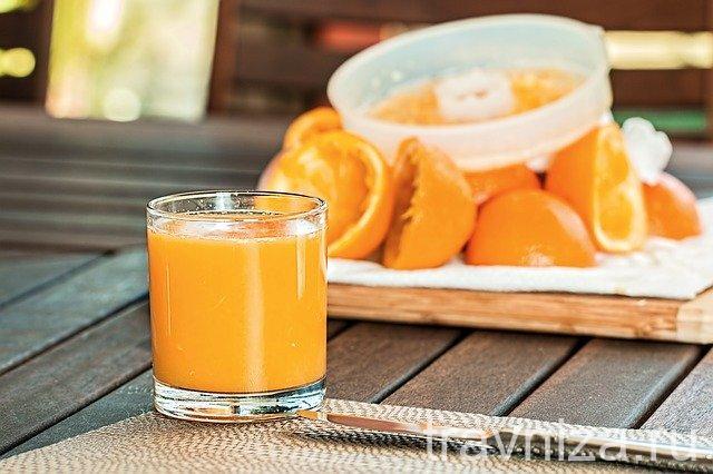 апельсиновый сок для здоровья глаз