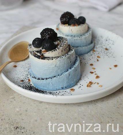 спирулина в десерте