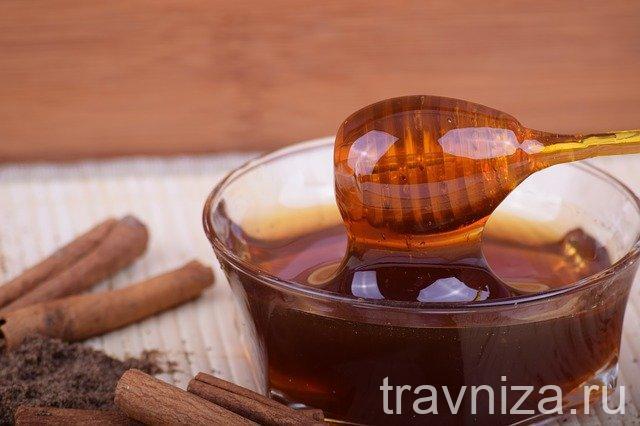 маска с корицей и медом