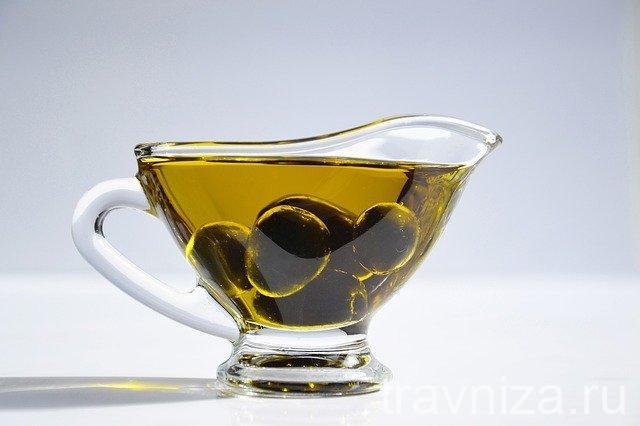 маска с корицей и оливковым маслом